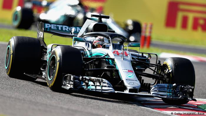 Japan Formel 1 GP in Suzuka | Lewis Hamilton (Getty Images/C. Rose)