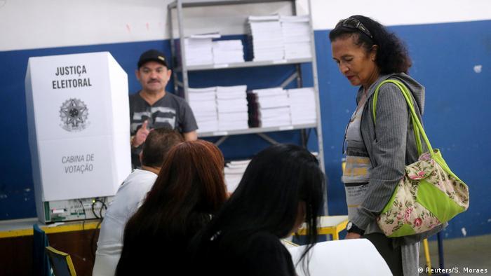 Brasilien Sao Paolo Präsidentenwahl
