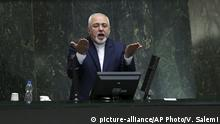 Iran Parlamentssitzung Abstimmung zum Anti-Terror-Gesetz (picture-alliance/AP Photo/V. Salemi)