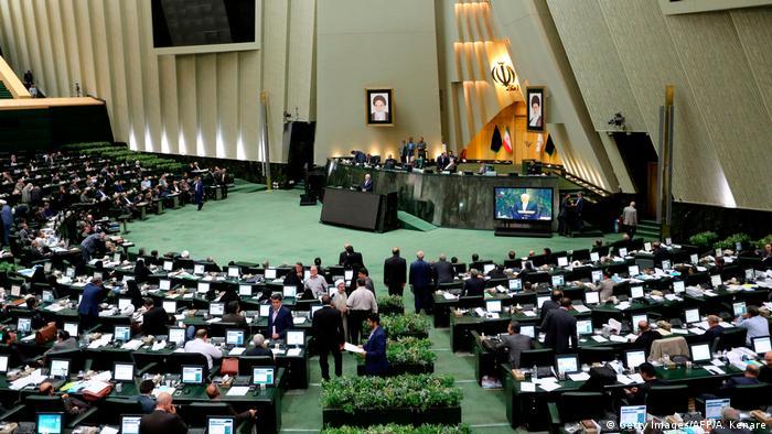 Iran Parlamentssitzung Abstimmung zum Anti-Terror-Gesetz