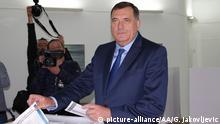 Bosnien und Herzegowina Wahlen Milorad Dodik