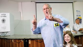 Brasilien Präsidentschaftswahl in Fortaleza Ciro Gomes