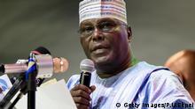Nigeria, ehemaliger Vizepräsident Atiku Abubakar