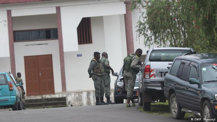 Präsidentschaftswahl in Kamerun Sicherheitskräfte