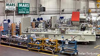 A solar turbine assembly hall in San Diego, California.