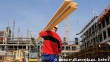 Deutschland Arbeitsmarkt Bauarbeiten