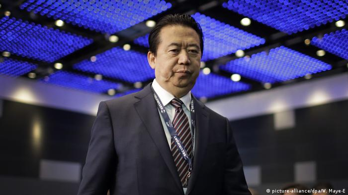 China: Ex-Interpol chief Meng Hongwei pleads guilty to bribery