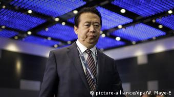 Meng Hongwei Interpol-Präsident wird in China vermisst (picture-alliance/dpa/W. Maye-E)