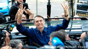 Brasilien Wahl 2018 | Stimmabgabe Jair Bolsonaro
