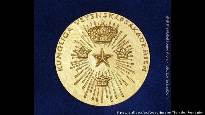 Medalia acordată câştigătorului Premiului Nobel pentru Economie