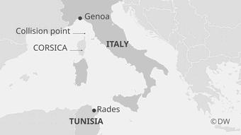 Karte Korsika Haverie EN