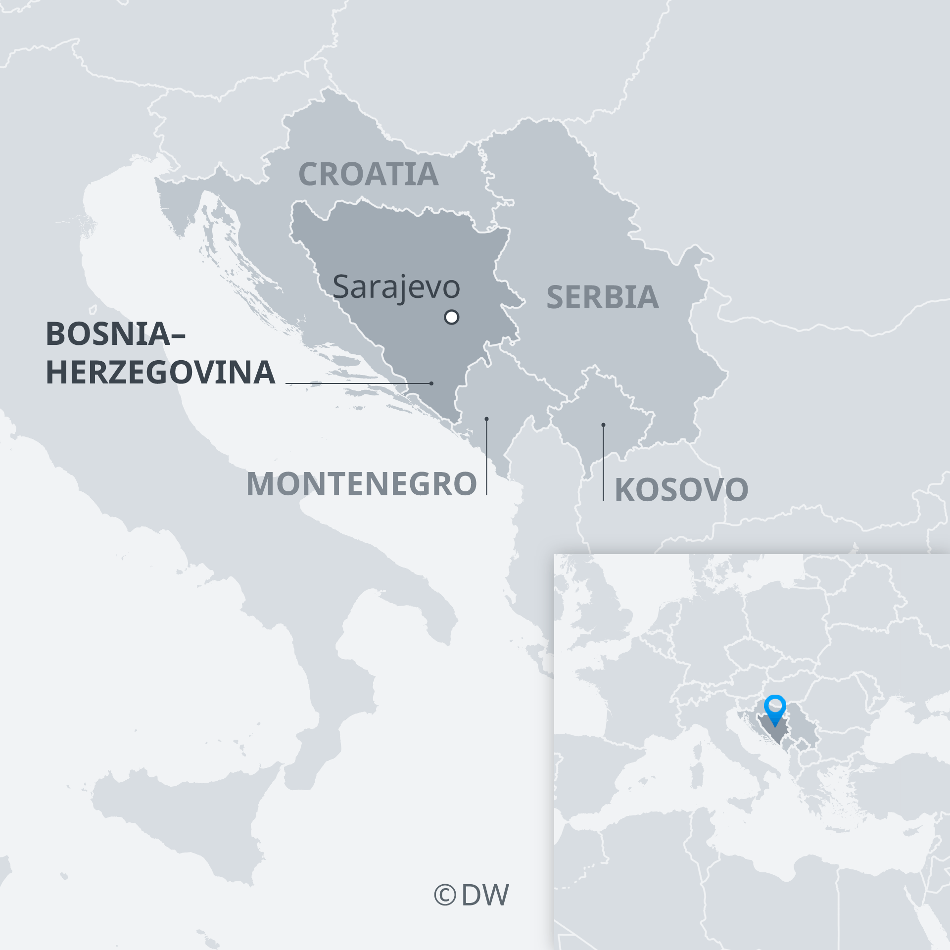 Picture of: Bosnia Herzegovina Nationalist Parties Win Parliamentary Election News Dw 08 10 2018