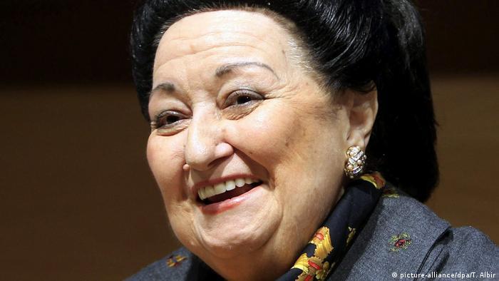Montserrat Caballé smiling (picture-alliance/dpa/T. Albir)