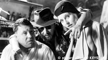 Dreharbeiten Berlin Alexanderplatz mit Rainer Werner Fassbinder