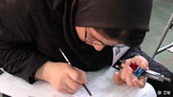 Iran Aufnahmeprüfung für die Universität in Teheran