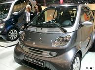 Smart For Two的燃气和电动驱动车