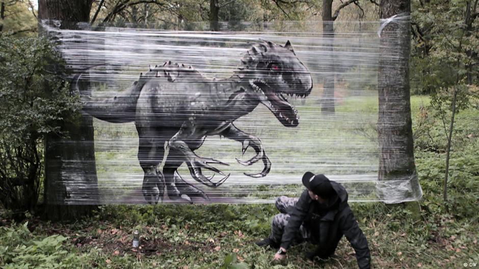 Graffiti in the forest