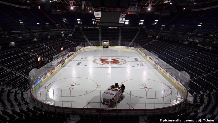 Saddledome Stadion (picture-alliance/empics/J. McIntosh)