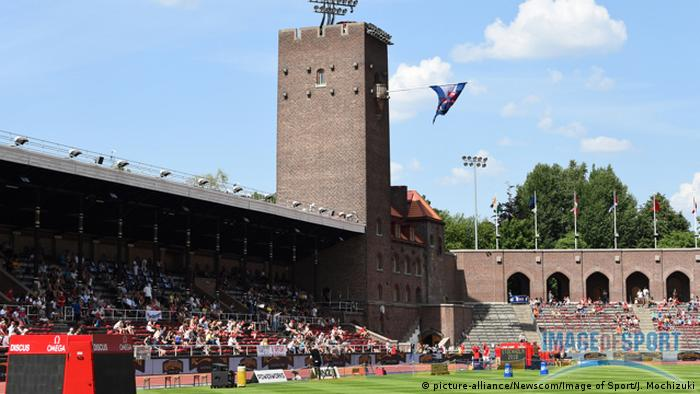 Stockholm Olympiastadion (picture-alliance/Newscom/Image of Sport/J. Mochizuki)