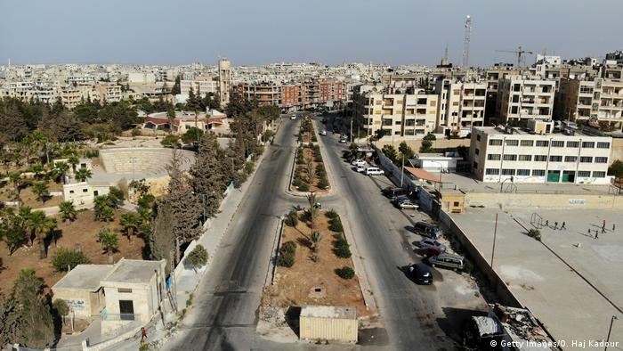 View of the city of Idlib