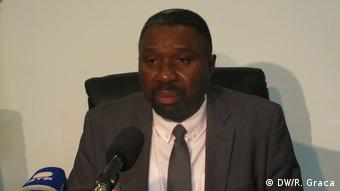 Sao Tome und Principe Wahlen Jorge Bom Jesus und Arlindo Carvalho (DW/R. Graca)