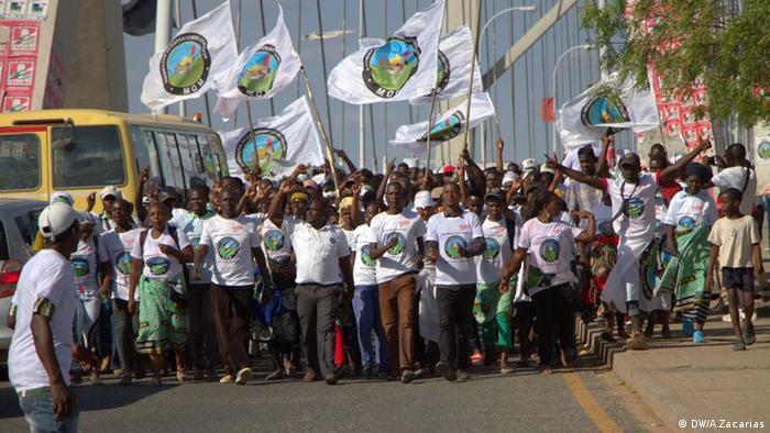Mosambik, Wahlkampagne der MDM inTete