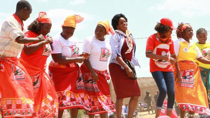 Apoiantes da FRELIMO em Tete