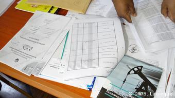 Mosambik Nampula Wahlnotizbücher