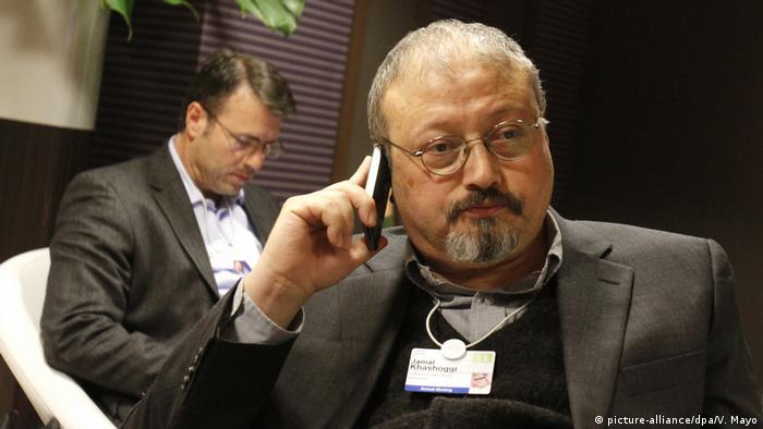 Jamal Khashoggi saudischer Journalist (picture-alliance/dpa/V. Mayo)