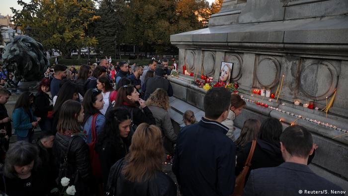 Bulgarien Gedenken Viktoria Marinowa in Ruse