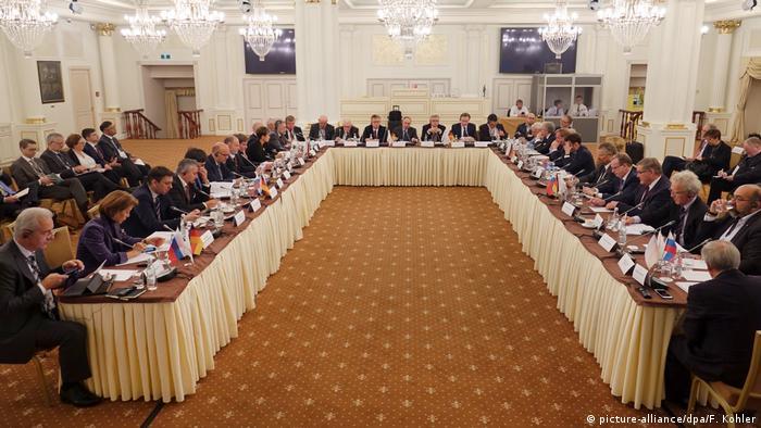 17. Deutsch-russischer Petersburger Dialog in Moskau (Foto: picture-alliance/dpa/F. Kohler)