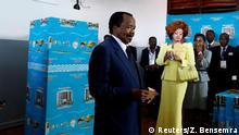 Kamerun Präsidentschaftswahlen Präsiden Biya