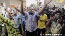 Kamerun Präsidentschaftswahlen Unterstützer von Maurice Kamto