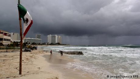 Mexiko Vorbereitung auf Hurrikan Michael