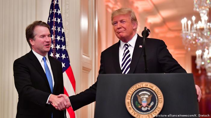 Trump blasts fresh misconduct accusation against Brett Kavanaugh