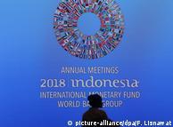 На заседании МВФ и Всемирного банка в Индонезии