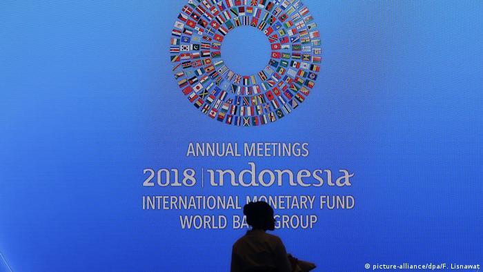 IMF summit in Bali, Indonesia