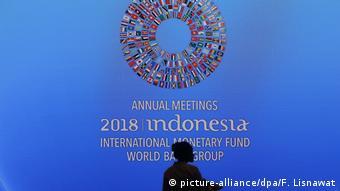 Indonesien IWF stellt Weltwirtschaftsbericht auf Bali vor (picture-alliance/dpa/F. Lisnawat)