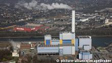 Gemeinschafts-Müllverbrennungsanlage am Rhein-Herne-Kanal, GMVA GmbH, Oberhausen, Nordrhein-Westfalen, Deutschland, Europa | Verwendung weltweit, Keine Weitergabe an Wiederverkäufer.