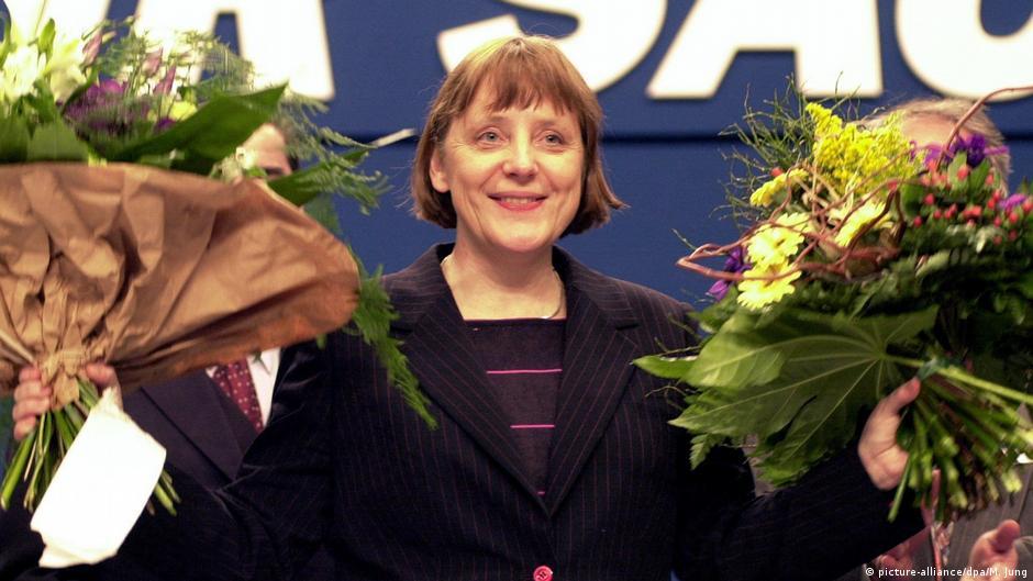 Angela Merkel zur CDU Vorsitzenden gewählt