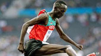 Kenya's Ezekiel Kemboi