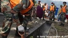 Indonesien Sulawesi Palu nach Erdbeben und Tsunami