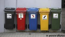 Mülltrenn-Station | Verwendung weltweit, Keine Weitergabe an Wiederverkäufer.