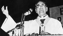 Bischof Óscar Romero, aus El Salvador