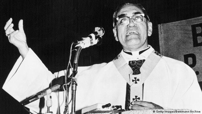 Bischof Óscar Romero, aus El Salvador (1973) (Getty Images/Bettmann Archive)