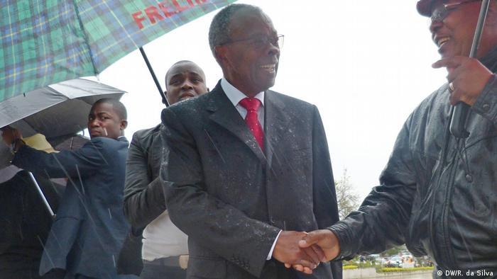 Eneas Comiche em campanha em Maputo