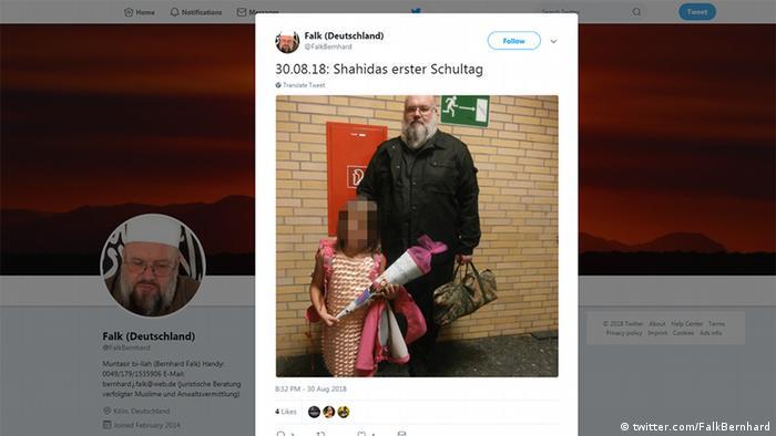 Twitter Screenshot Bernhard Falk