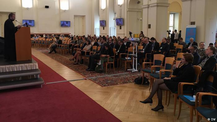 На открытии Форума Бориса Немцова в Праге