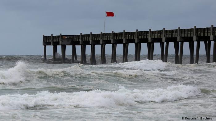 Pensacola, Florida ahead of the storm