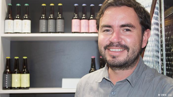 Esteban Silva, fundador de Cervecería de Colima